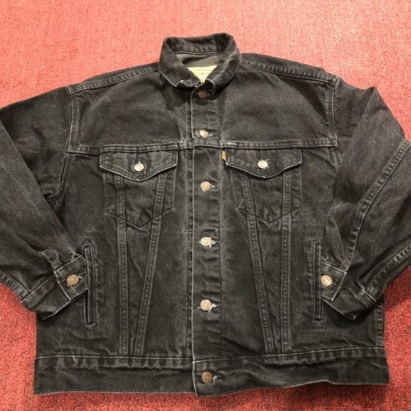 Vintage Levi's orange trucker jacket